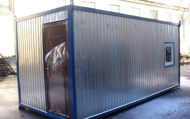 Купить вагончик-бытовку с тамбуром в Самаре