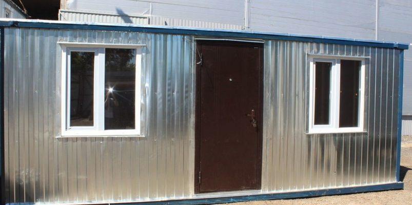 Купить зимнюю утепленную двухкомнатную бытовку для проживания в Самаре