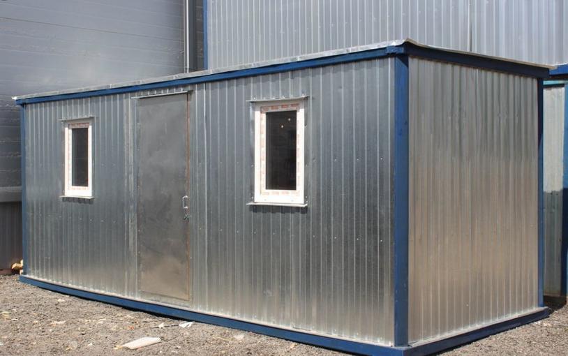 Купить двухкомнатную строительную бытовку-распашонку в Самаре