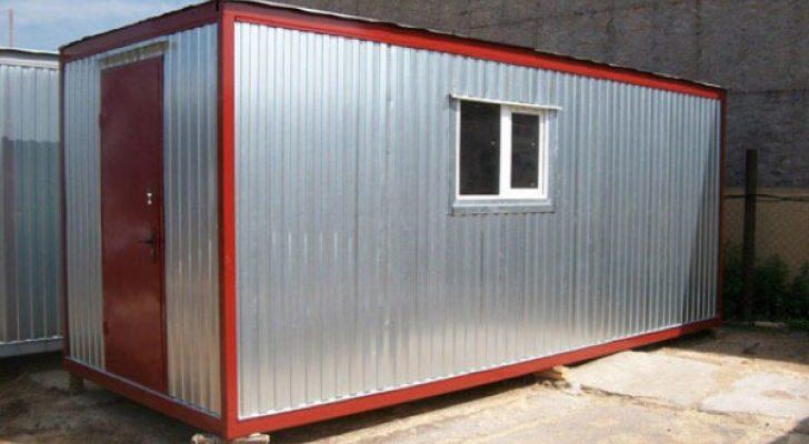 Купить металлический утепленный вагончик-бытовку для зимнего проживания в Самаре