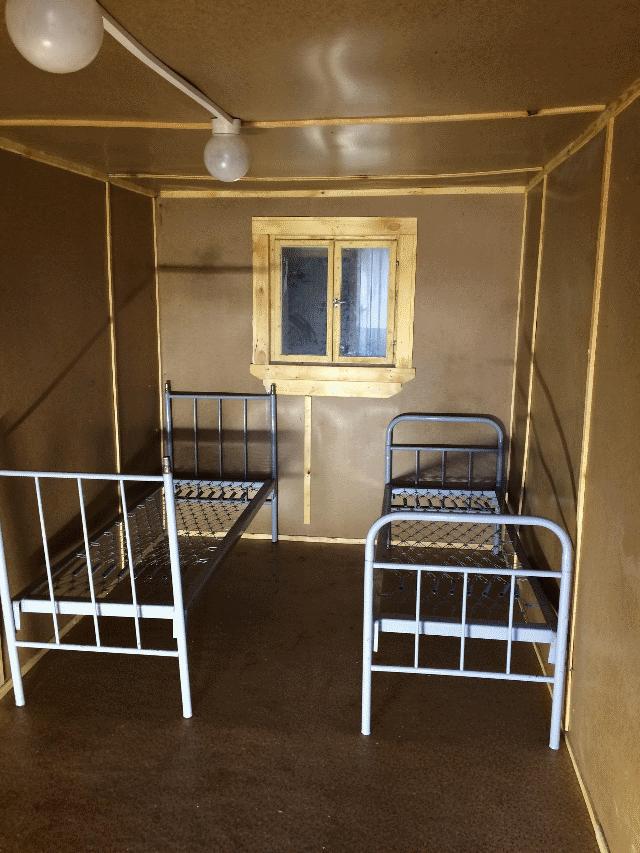 Купить бытовку строительную с отделкой ДВП в Самаре