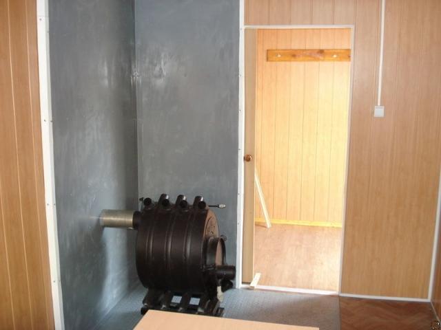 Купить утепленную металлическую двухкомнатную бытовку-распашонку в Самаре