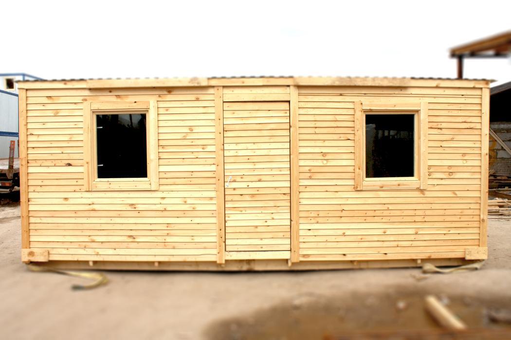 Строительные бытовки-вагончики: комфорт на стройплощадке