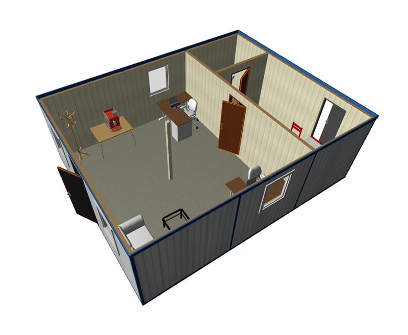 Офисные блок контейнеры